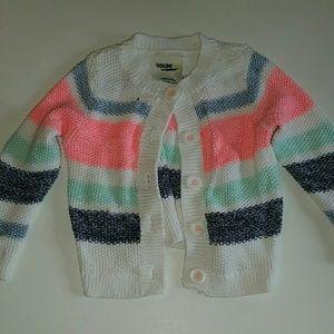 Girls button-up sweater